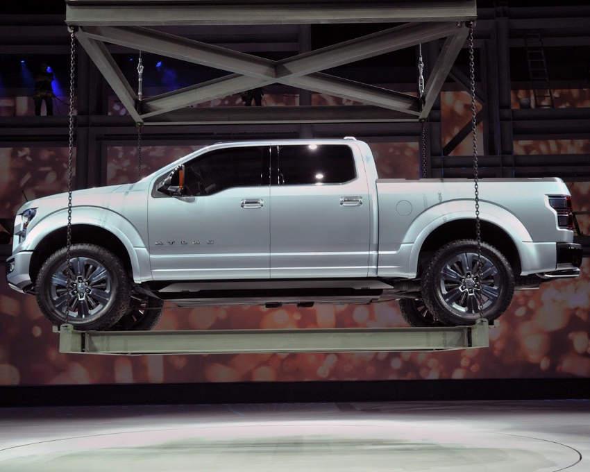 фото концепта Ford Atlas 2013 сбоку