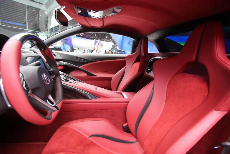 интерьер Acura NSX Concept 2013