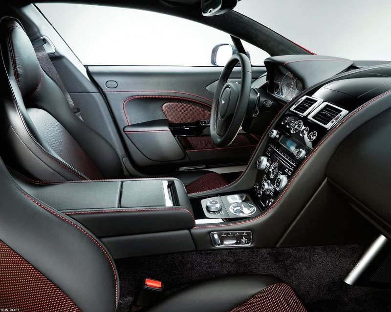 интерьер Aston Martin Rapide S 2014