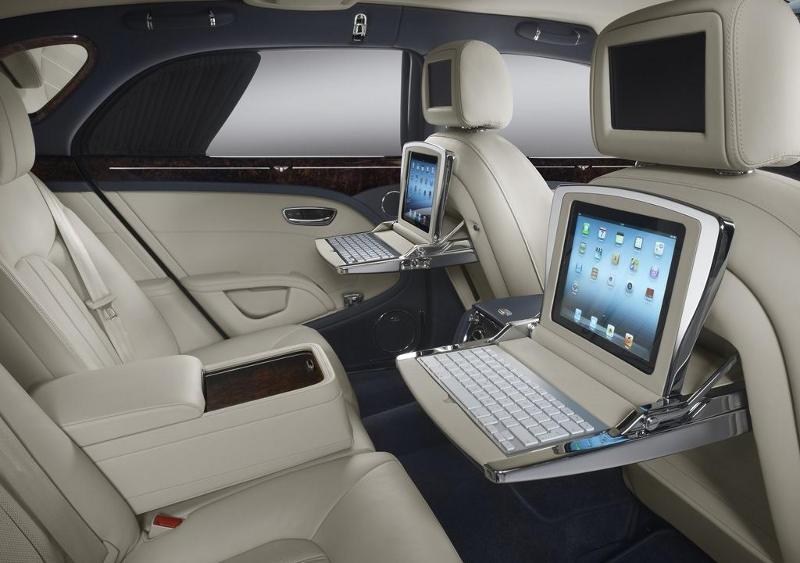 интерьер Bentley Mulsanne 2014 года