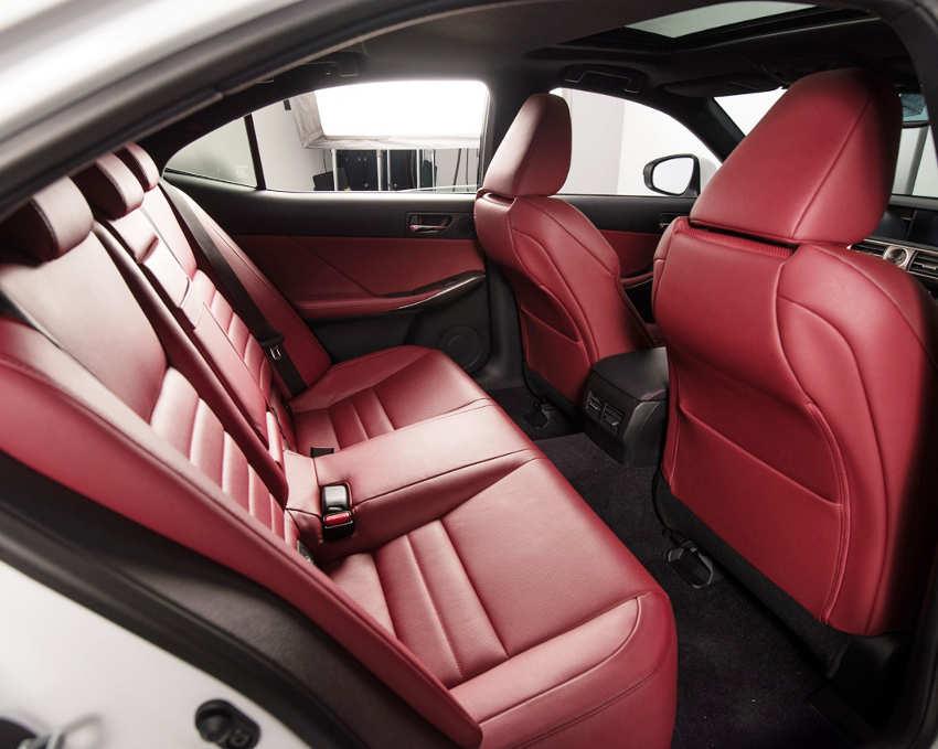 интерьер Lexus IS 2014