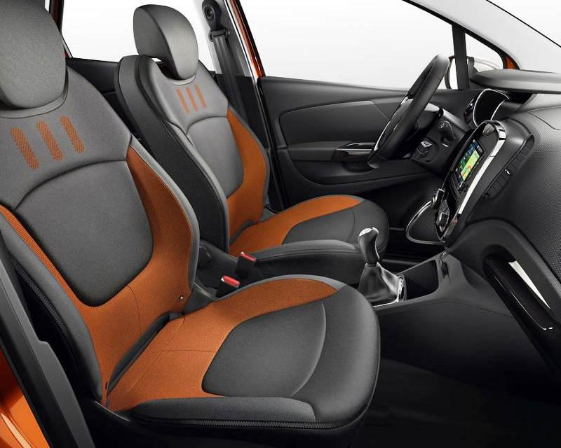 интерьер Renault Captur 2014