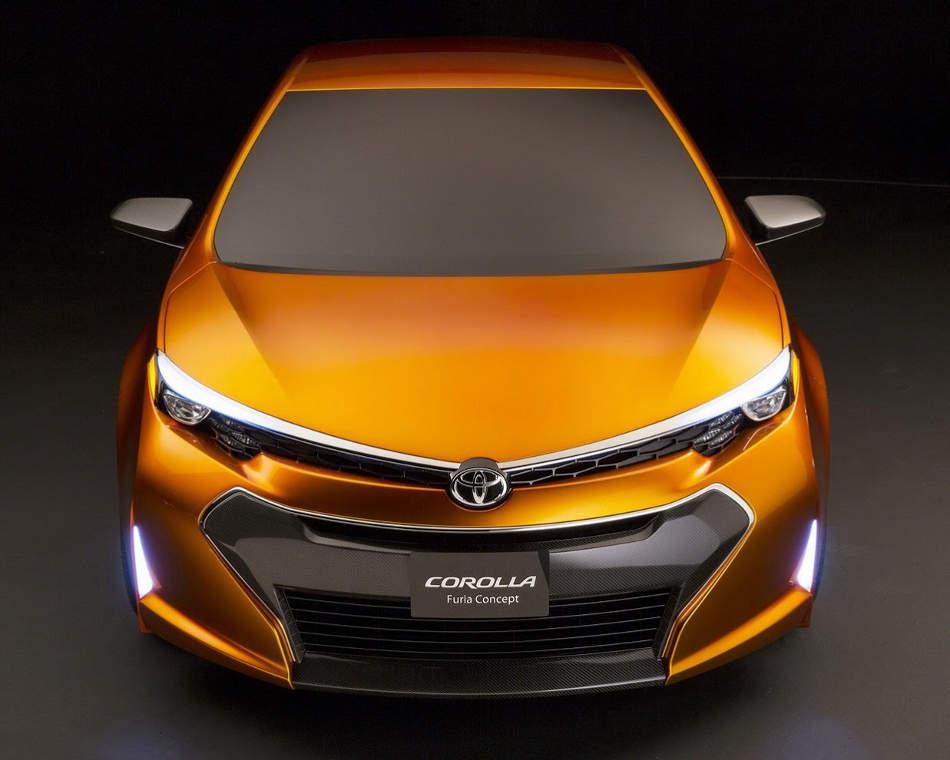 концепт Toyota Corolla Furia 2013