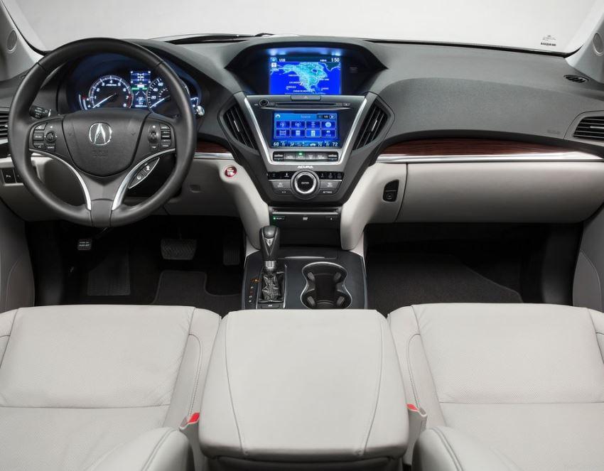 салон Acura MDX 2014