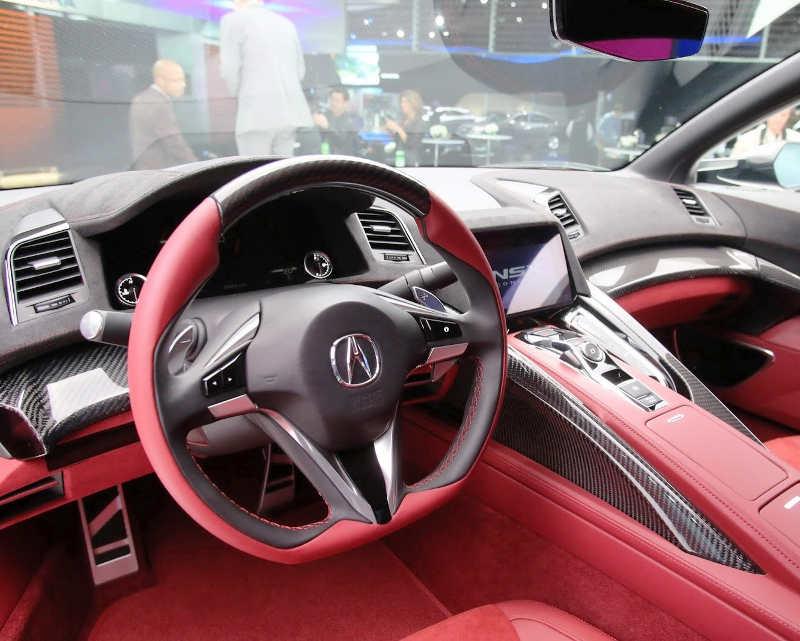 салон Acura NSX Concept II