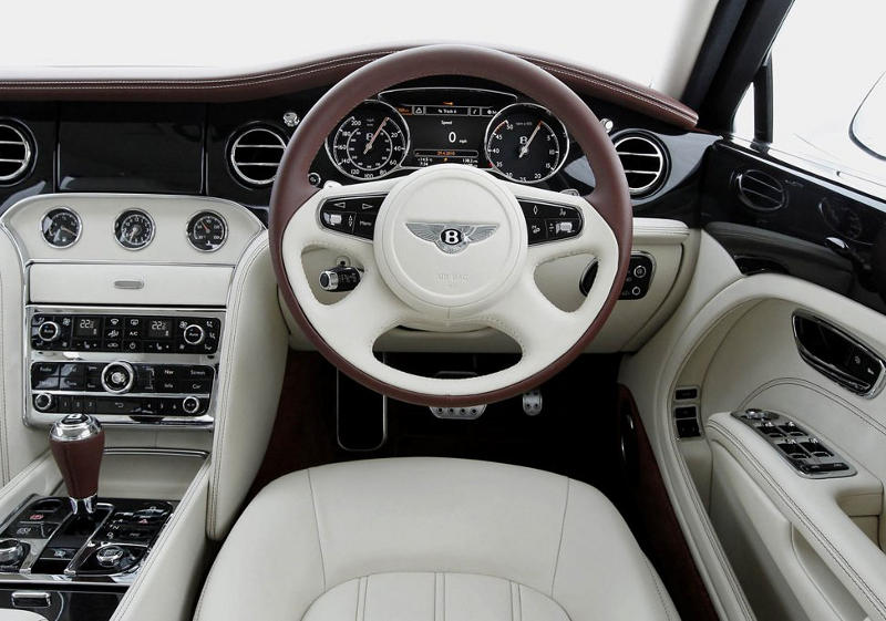 салон Bentley Mulsanne 2014