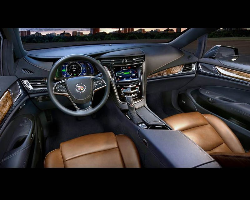 салон Cadillac ELR 2014