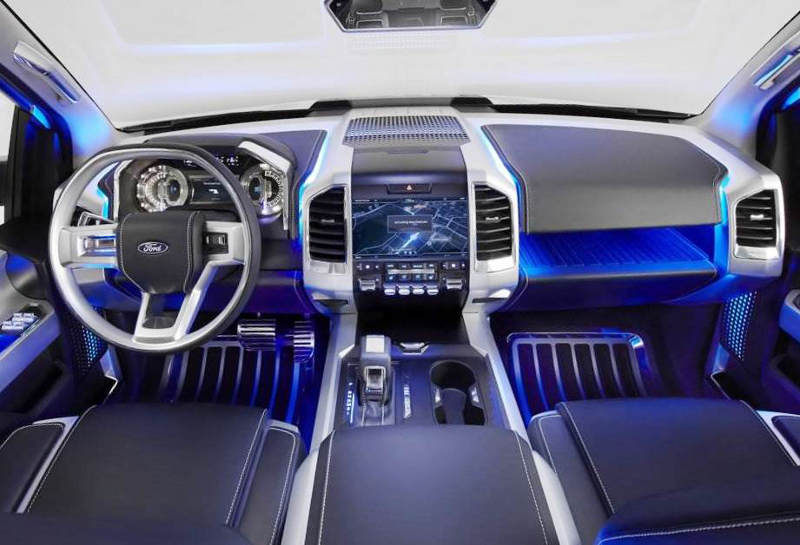 салон Ford Atlas Concept 2013