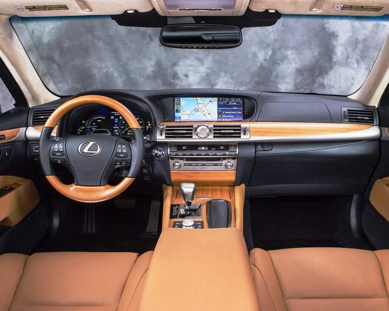 салон Lexus LS 600h 2013