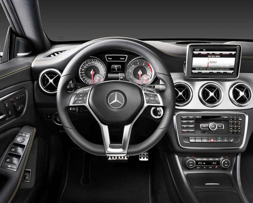 салон Mercedes CLA-Class 2014