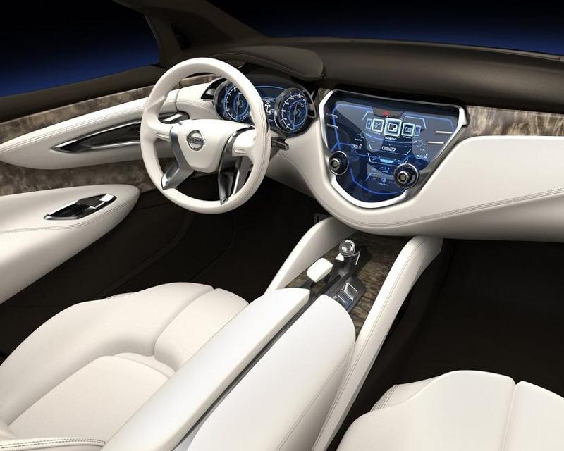 салон Nissan Resonance Concept 2013