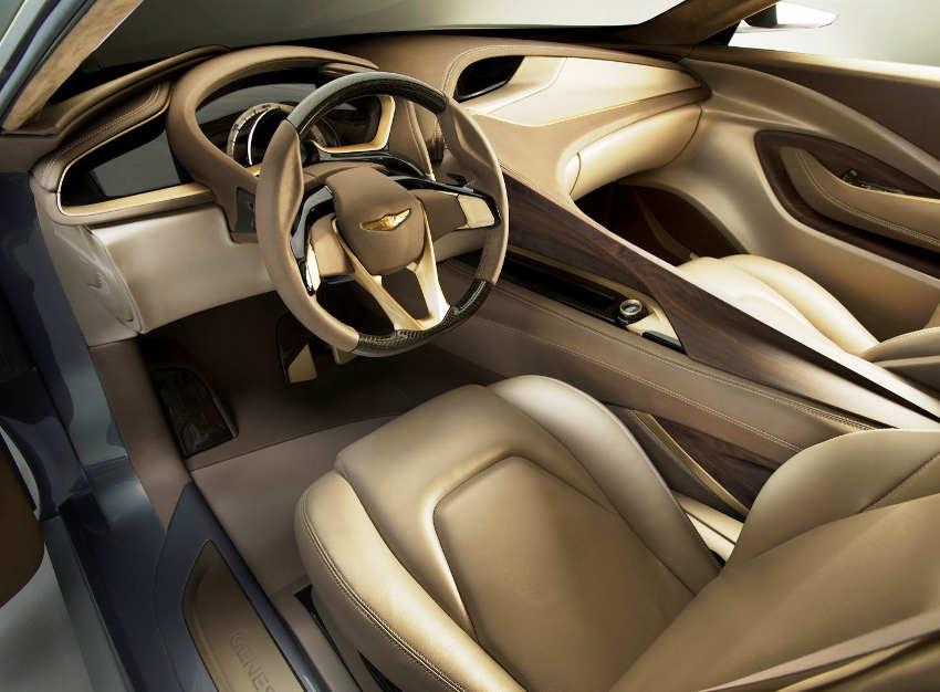 салон концепта Hyundai HCD-14 Genesis 2013