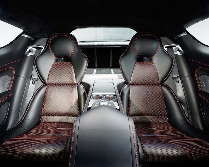 сидения Aston Martin Rapide S 2014
