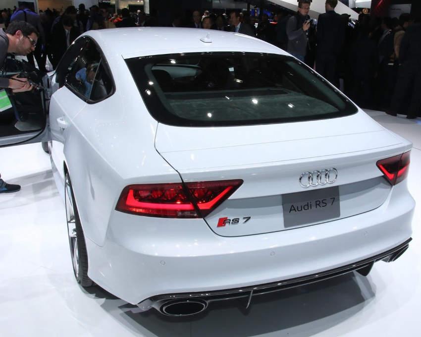 задние фонари Audi RS7 Sportback 2014