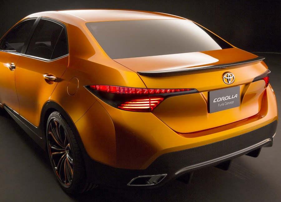 задние фонари Toyota Corolla Furia Concept 2013