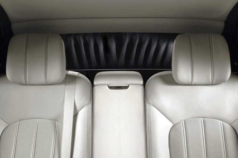 задние сидения Bentley Mulsanne 2014
