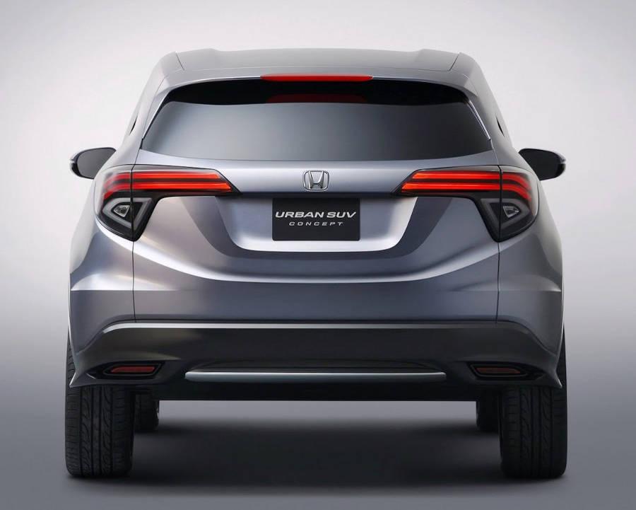 задние фонари концепта Honda Urban SUV 2013