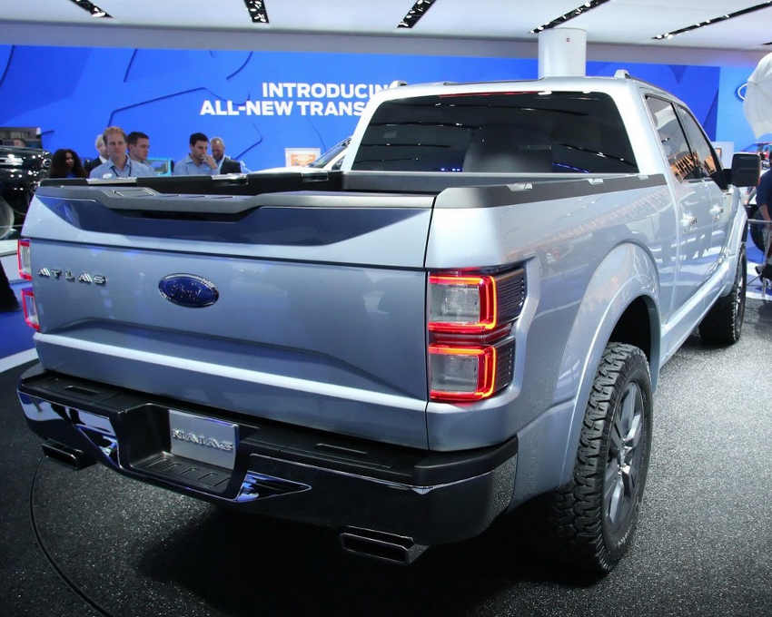задняя часть Ford Atlas Concept 2013