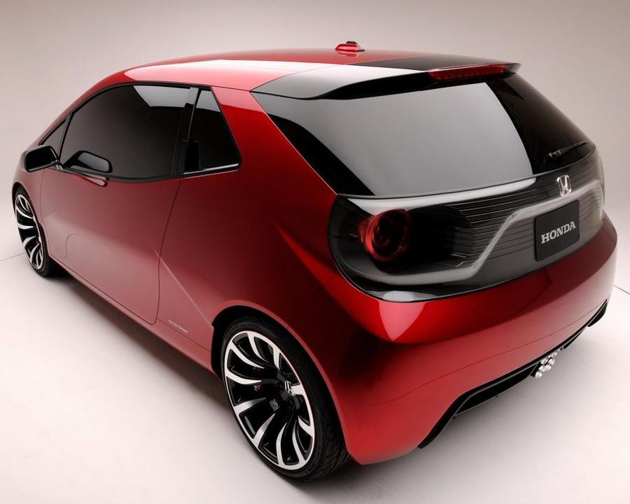 задняя часть Honda GEAR Concept 2013