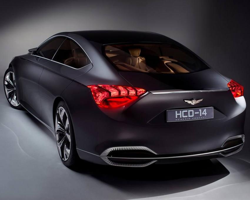 задняя часть Hyundai HCD-14 Genesis 2013