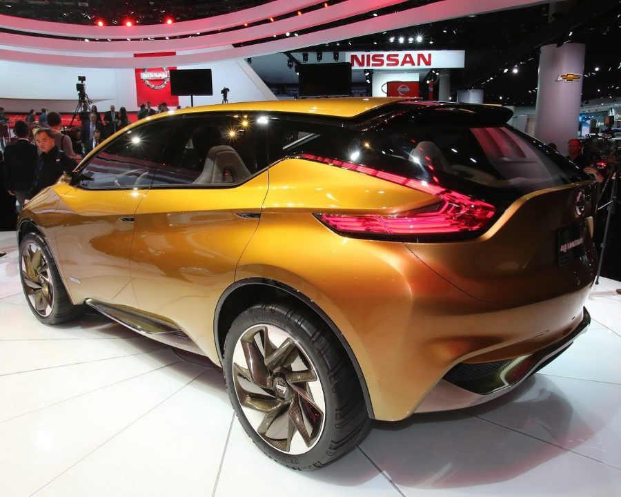 задняя часть концепта Nissan Resonance 2013