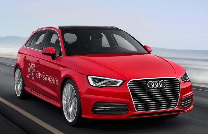 Audi A3 e-tron Concept 2013