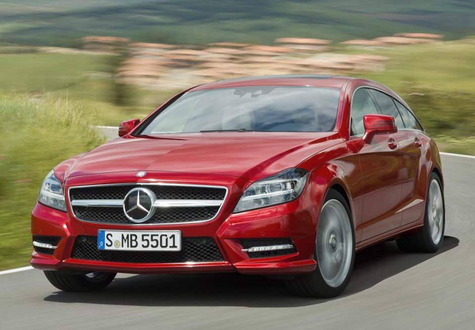 Mercedes CLS Shooting Brake 2013 в России