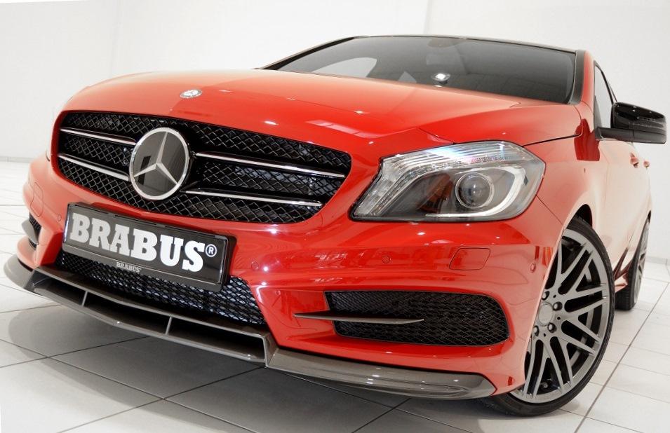 бампер Mercedes A-Class 2013 от Brabus