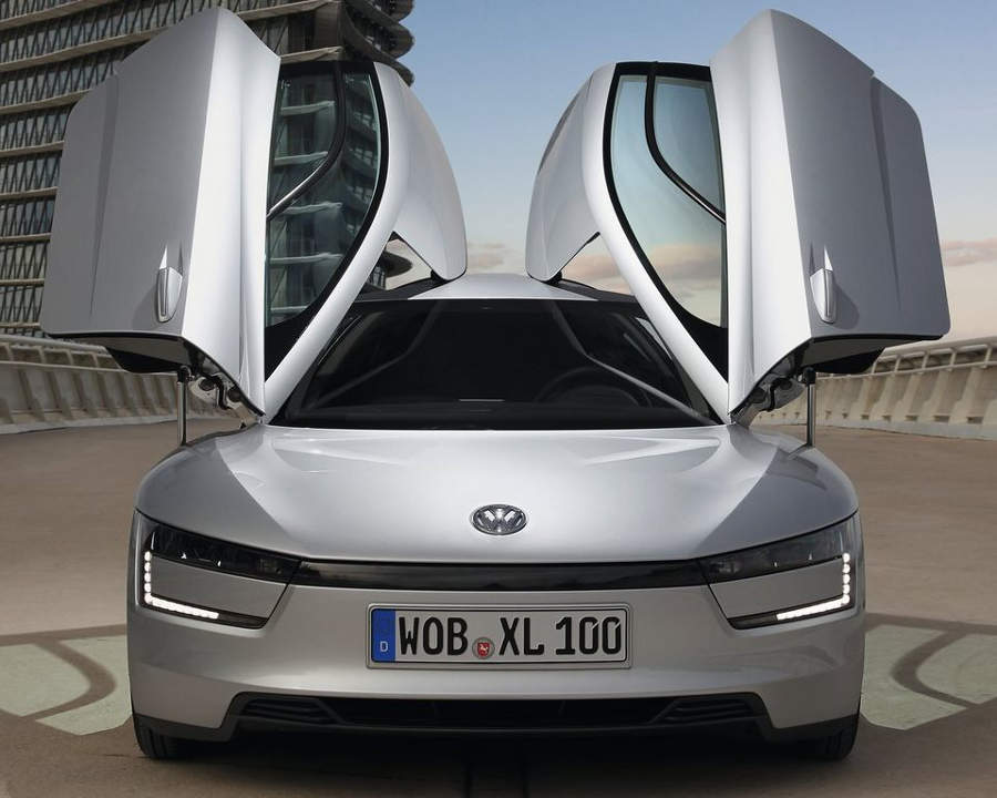 фары и бампер Volkswagen XL1 2014