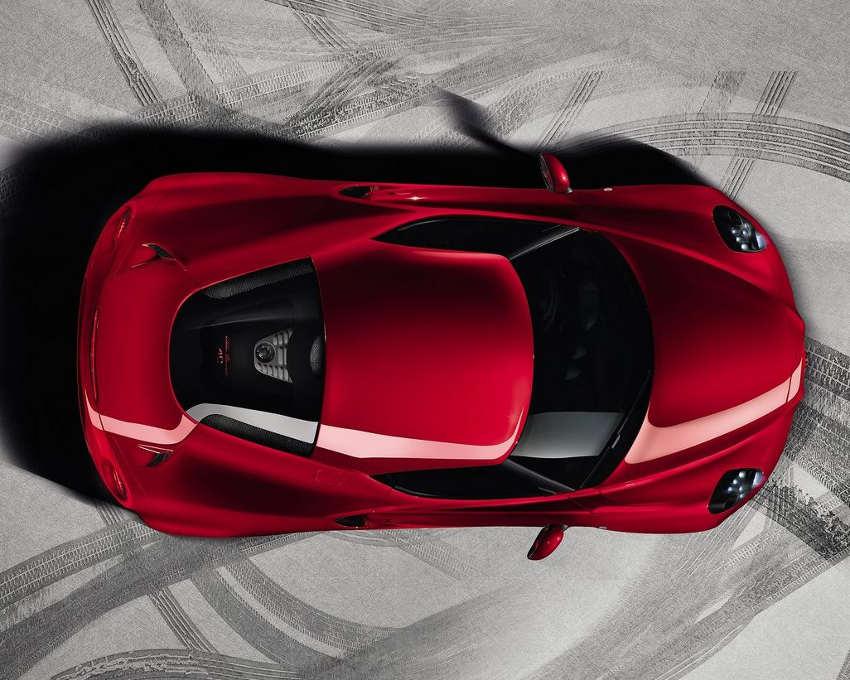 фото Alfa Romeo 4C 2014 сбоку