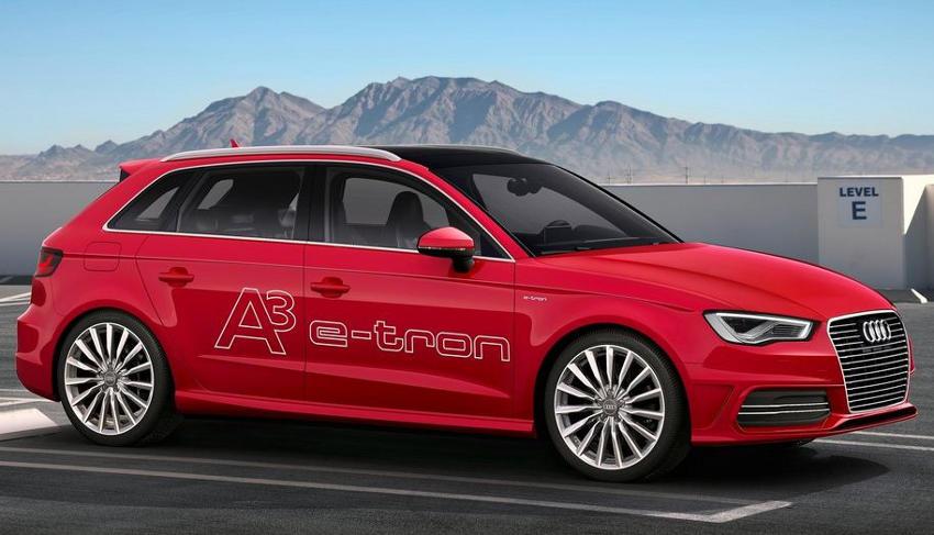 фото Audi A3 e-tron Concept 2013 сбоку