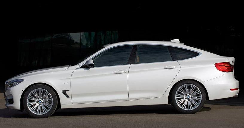 фото BMW 3-Series Gran Turismo 2014 сбоку
