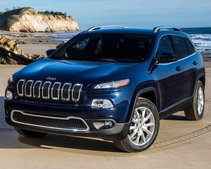 ещё фото кроссовера Jeep Cherokee  2014