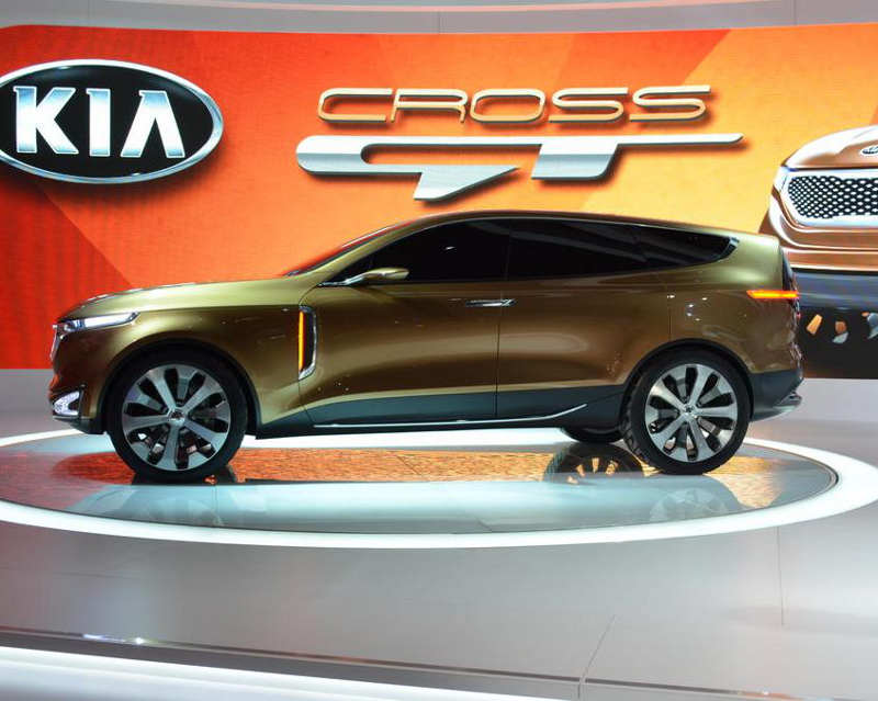 фото Kia Cross GT Concept 2013 сбоку