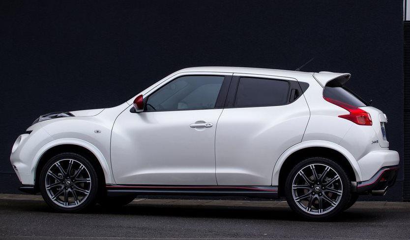 фото Nissan Juke Nismo 2013 сбоку
