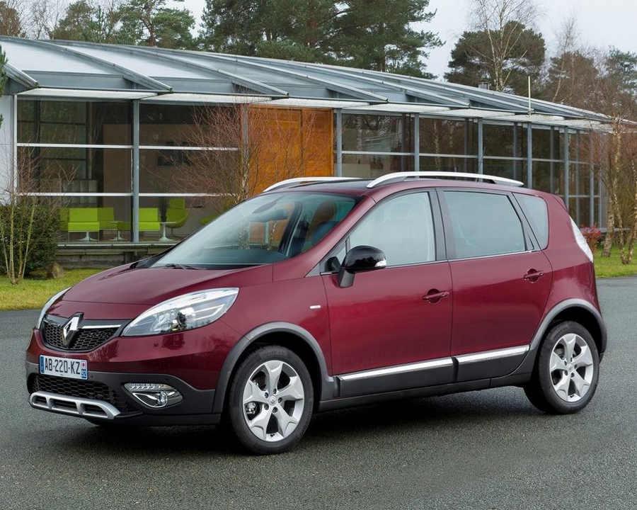 фото Renault Scenic XMOD 2013 года