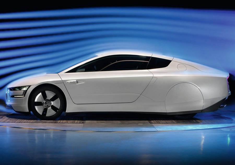 фото Volkswagen XL1 2014 сбоку