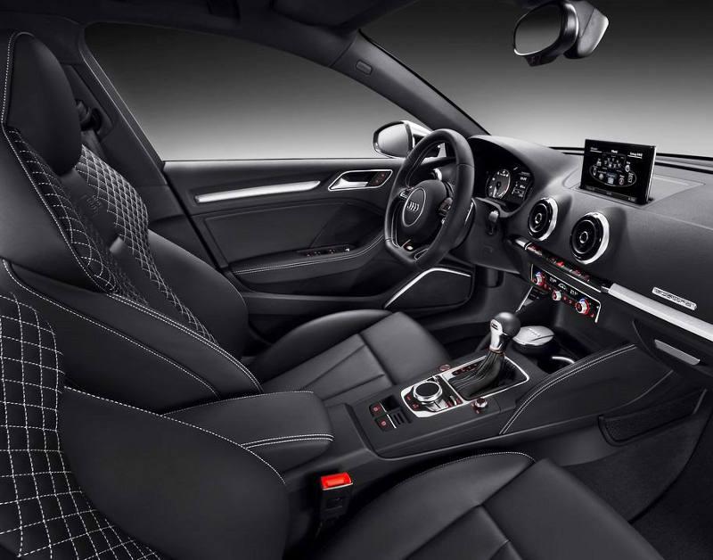 интерьер Audi S3 Sportback 2014
