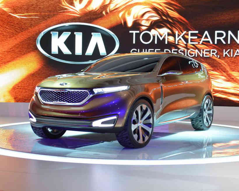 концепт Kia Cross GT 2013