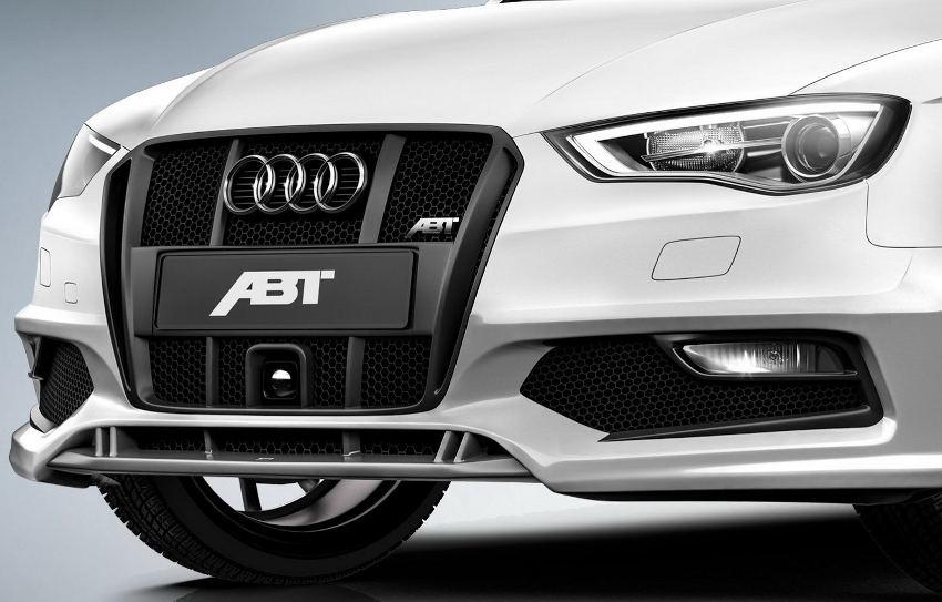 передний бампер Audi A3 Sportback 2014 от ABT