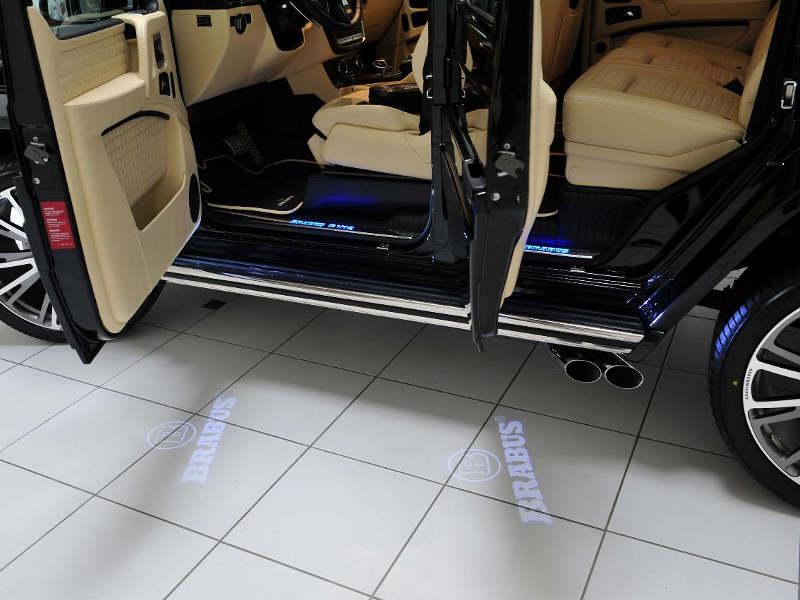 пороги Mercedes G 65 AMG от Brabus