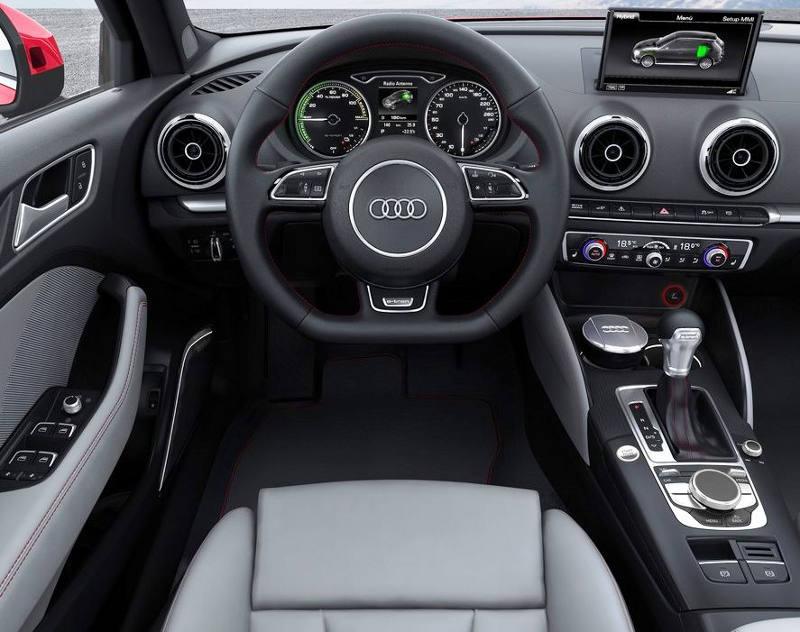 салон Audi A3 e-tron Concept 2013