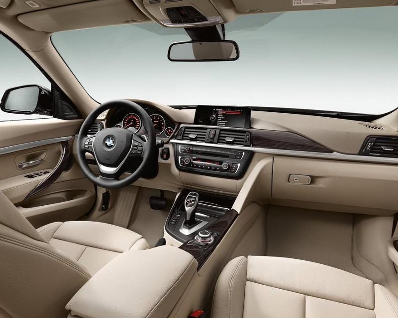 салон BMW 3-Series Gran Turismo 2014