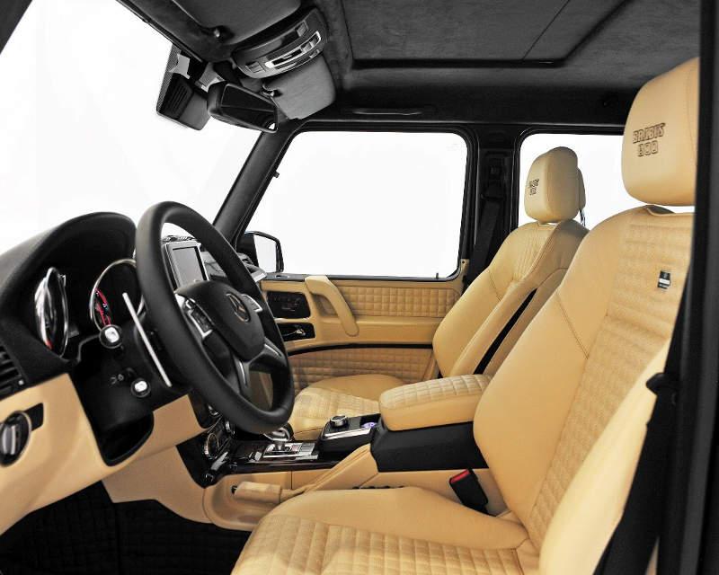 салон Mercedes G 65 AMG от Brabus
