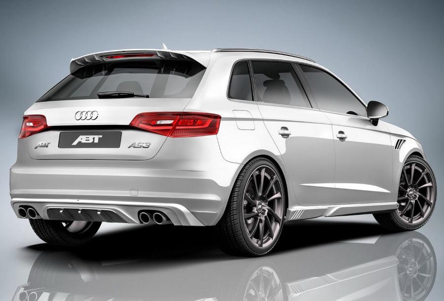 спойлер Audi A3 Sportback от ABT