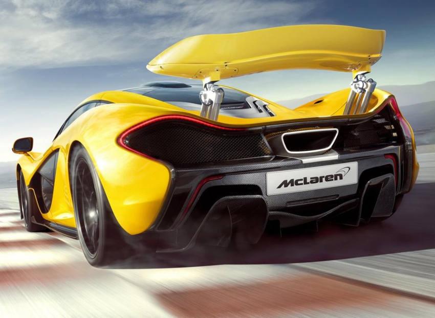 спойлер McLaren P1 2014