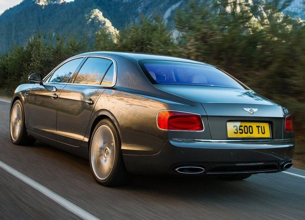 задние фонари Bentley Flying Spur 2014