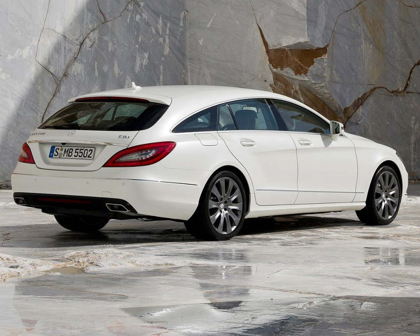 задняя часть Mercedes CLS Shooting Brake 2013