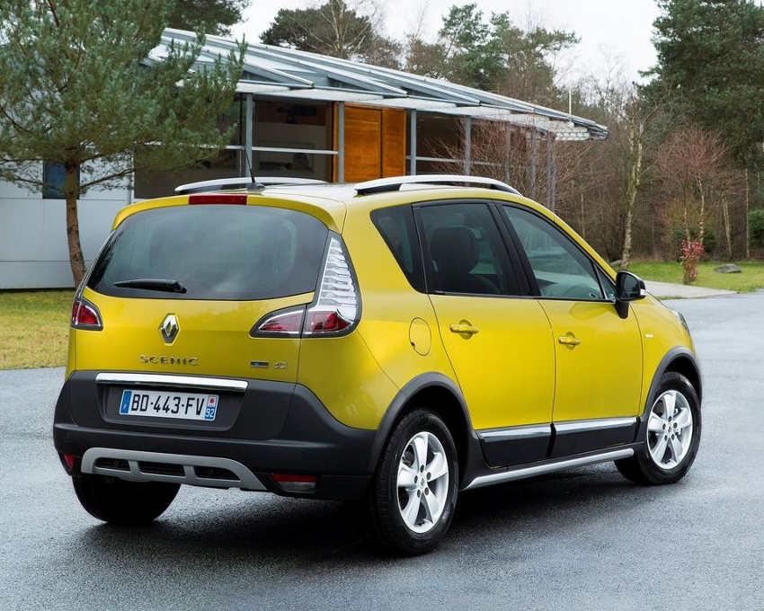 задняя часть Renault Scenic XMOD 2013