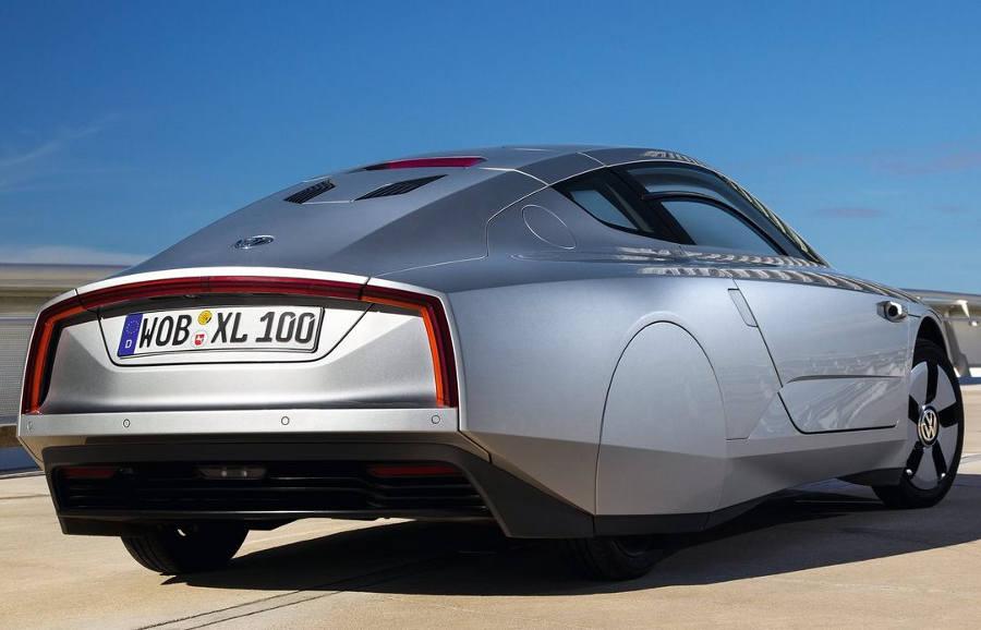 задняя часть Volkswagen XL1 2014